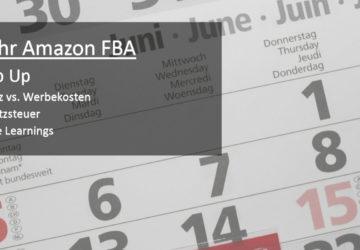1 Jahr Amazon FBA