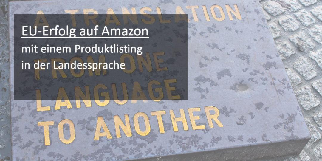 amazon landessprache
