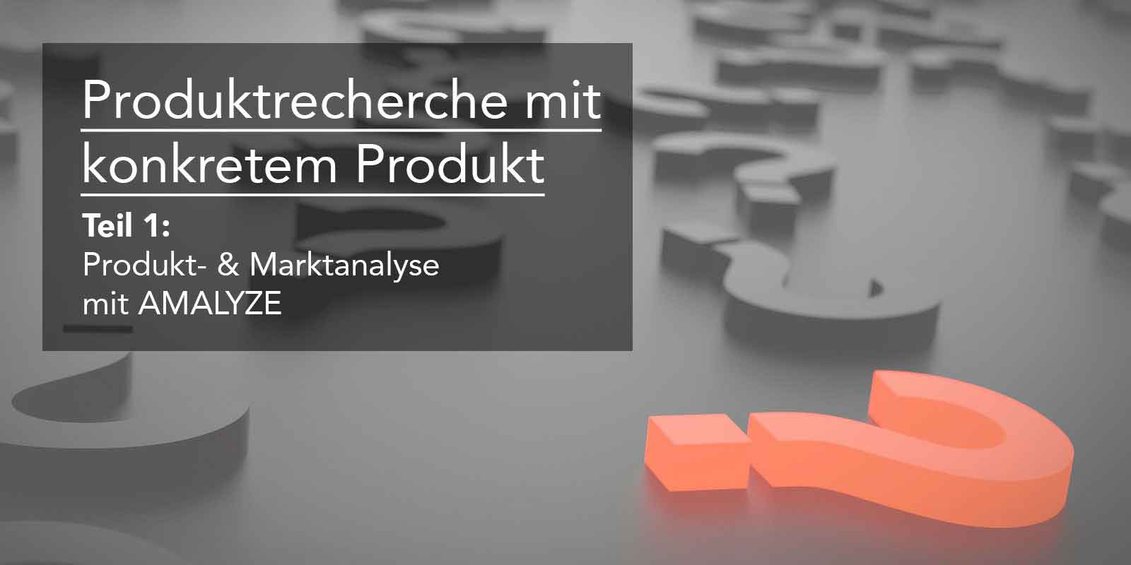 produktanalyse amalyze