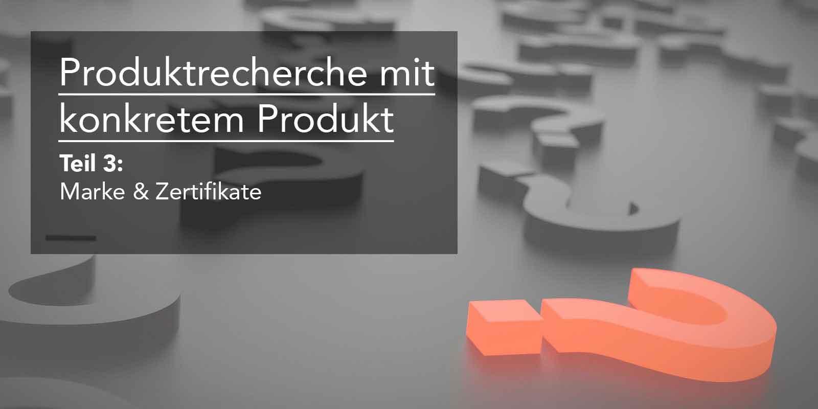 Eine konkrete Produktrecherche für Amazon – Teil 3: Marke ...